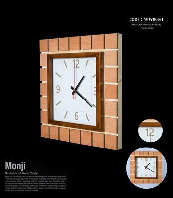 تصویر ساعت دیواری مربع ww005/1