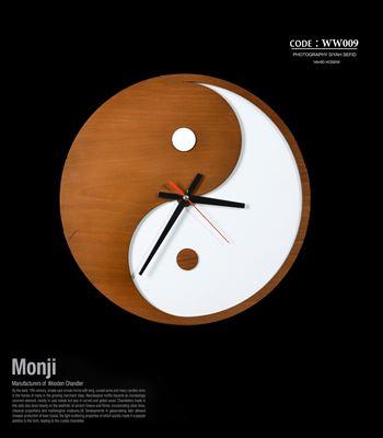تصویر ساعت دیواری کونگ فو ww009