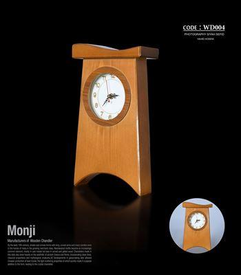 تصویر ساعت رومیزی کلاه دار بزرگ WD004