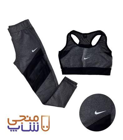 تصویر ست نیم تنه و لگ ورزشی زنانه sh047