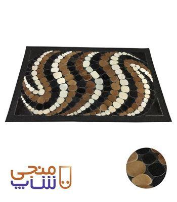 تصویر فرش تزیینی پوستی ta033
