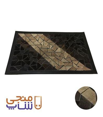 تصویر فرش تزیینی پوستی ta034