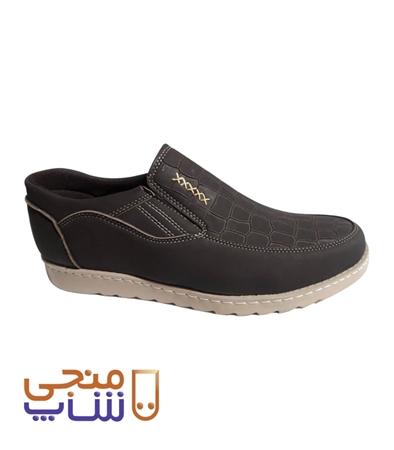 تصویر کفش روزمره مدل ونیز سنگی کشی ta018