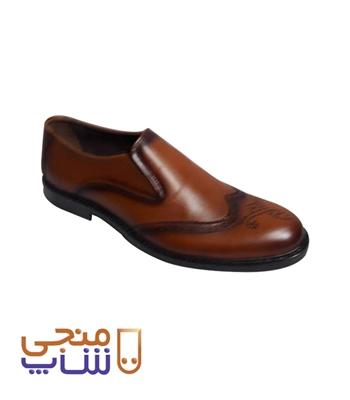 تصویر کفش مردانه مدل هشت ترک کشی ta042