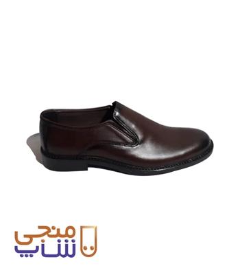 تصویر کفش مردانه مدل کشی ساده ta043