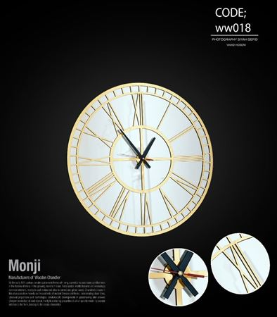 تصویر ساعت دیواری هلنا 60 ww018