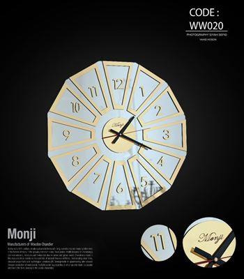 تصویر ساعت دیواری حسنا 60 ww020