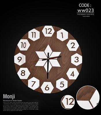 تصویر ساعت دیواری ستاره 50 WW023