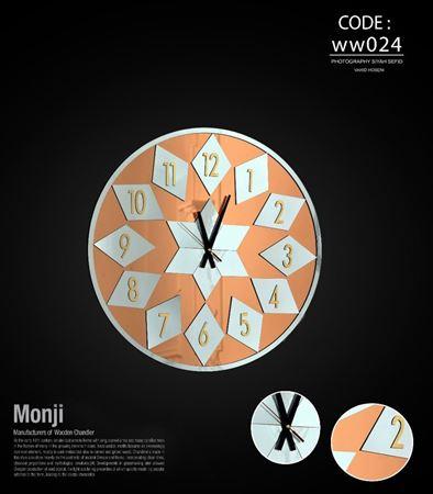 تصویر ساعت دیواری سانای60 WW024