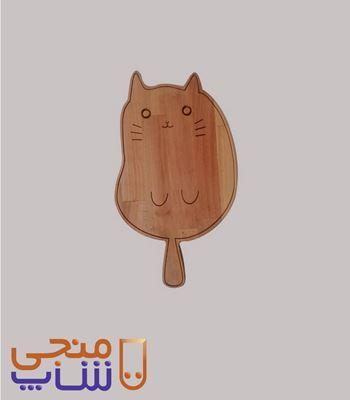 تصویر تخته سرو گربهZ104